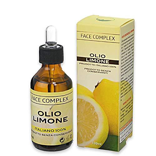 Olio essenziale al Limone Face Complex - 100ml 6m - 100% vegetale