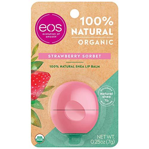 EOS, Burrocacao a sfera, profumo: Sorbetto alla fragola