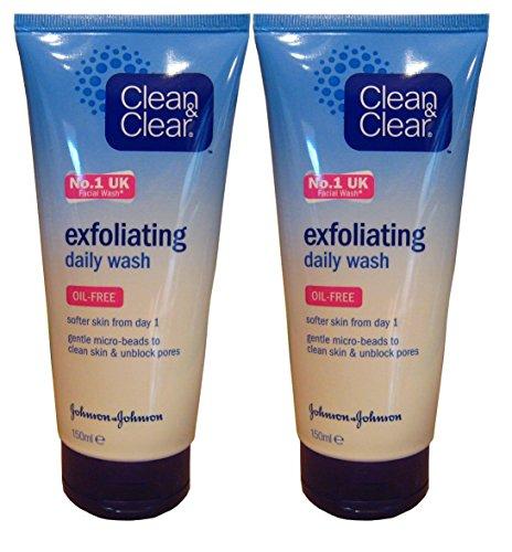 Clean & Clear esfoliante lavaggio quotidiano 150ml (confezione da 2)