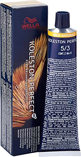 """Wella """"Koleston Perfect Rich Naturals"""" - Tinta per capelli, 60 ml (etichetta in lingua italiana non garantita)"""