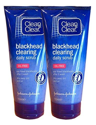 CLEAN & CLEAR BLACKHEAD CLEARING DAILY SCRUB 150ML [2]
