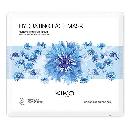 KIKO Milano Hydrating Face Mask   Maschera Viso Idratante in Hydrogel con Estratto di Fiordaliso