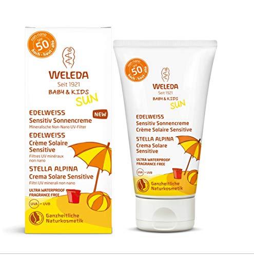 Weleda Italia Baby&Kids Stella Alpina Crema Solare Sensitive (SPF 50) - 50 ml.