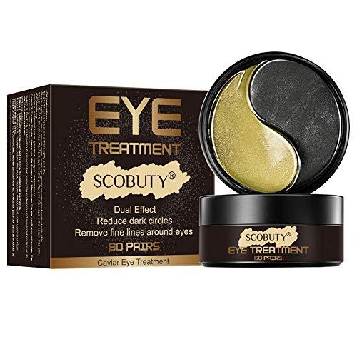 Eye Mask,Eye Patch,Maschere Eye Gel Patches,Maschera d'occhio del collagene,dratante,anti-rughe,anti-età,Elimina le occhiaie e le borse sotto gli occhi,60 Patches