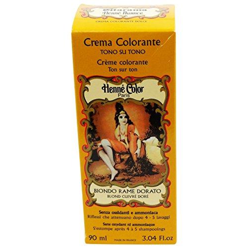 Sitarama Henne Crema Colorante Biondo Rame Dorato Tintura Naturale EcoBio