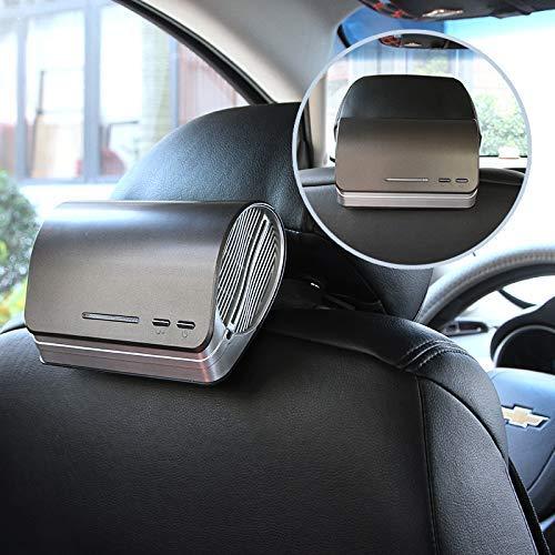 VISTANIA Purificatore d'Aria Auto e ionizzatore-Deodorante per Auto a Carbone Attivo prefiltro e diffusore di Olio Essenziale di aromaterapia-Potente Odore di Polvere di Fumo Remover