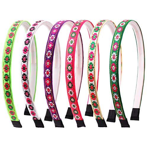 Candygirl Glitter Velvet Fascia Alice Band Ribbon Hairband Denti per ragazze Bambini Craft fai da te (Multicolor)
