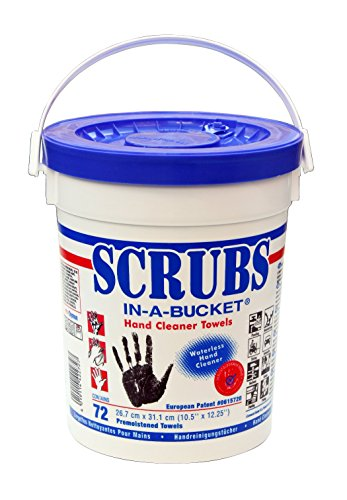 Aparoli Original Scrubs In-a-Bucket DY42272-72 Fazzolettini umidificati per la pulizia delle mani