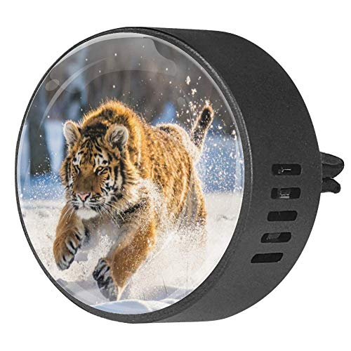 Siberian Tiger - Diffusore per auto in EVA, aromaterapia, diffusore di oli essenziali, frutto della passione floreale