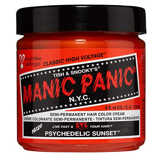 Manic Panic - Psychedelic Sunset Classic Creme Vegan Cruelty Free Semi-Permanent Hair Colour 118ml