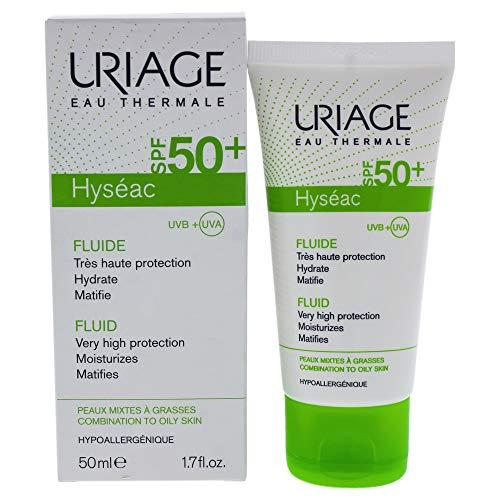 Uriage Hyseac Fluido solare con SPF 50+, 50 ml