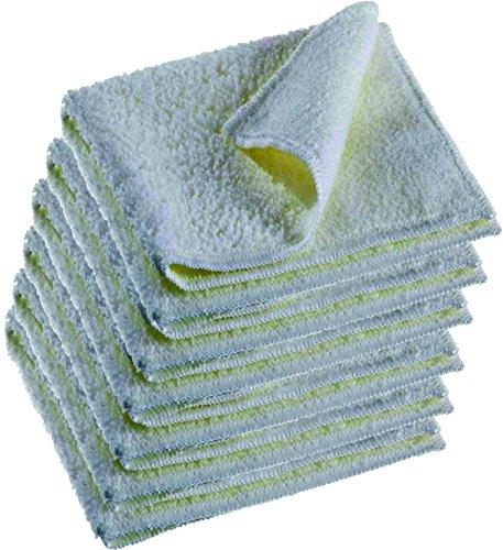 Salviette cosmetiche per la pulizia del viso, in microfibra, 6 pezzi, pulizia delicata dei pori (ultra fine)