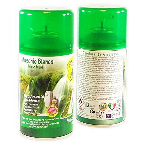 Muschio Deodorante Ambiente 250 ml Ricarica Diffusore Automatico