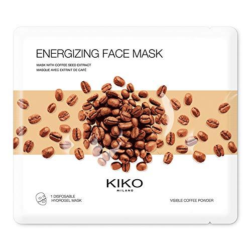 KIKO MILANO - Maschera viso energizzante con idrogel idratante con estratto di caffè