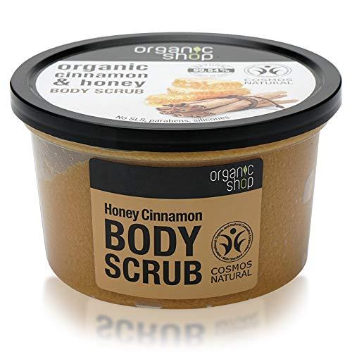 Organic Shop - Scrub al miele alla cannella, 250 ml