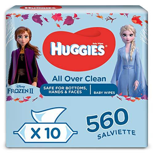 Huggies Disney Salviette Umidificate per Bambini, 10 Pacchi da 56 Pezzi