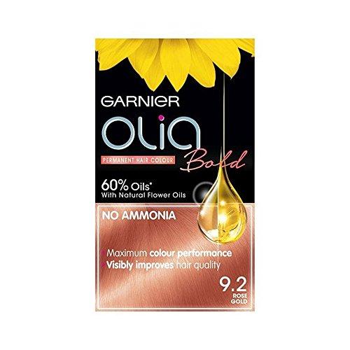 Garnier Olia Bold, colore permanente per capelli, 9.2 oro rosa
