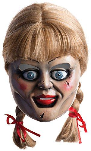 Rubies 36561 - Maschera per adulti Annabelle con parrucca, taglia unica