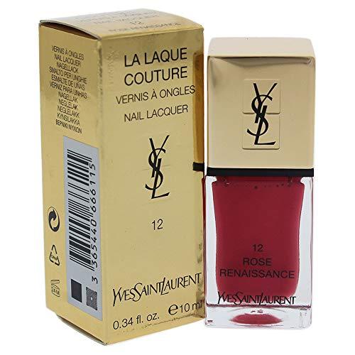 Yves Saint Laurent La Laque Couture, 12 Rose Renaissance, Donna, 10 gr