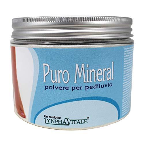 Polvere Pediluvio Puro Mineral - Allume di Potassio in Polvere - Rimedio naturale per calli e piedi gonfi - Elimina dolori e cattivi odori - 500 gr