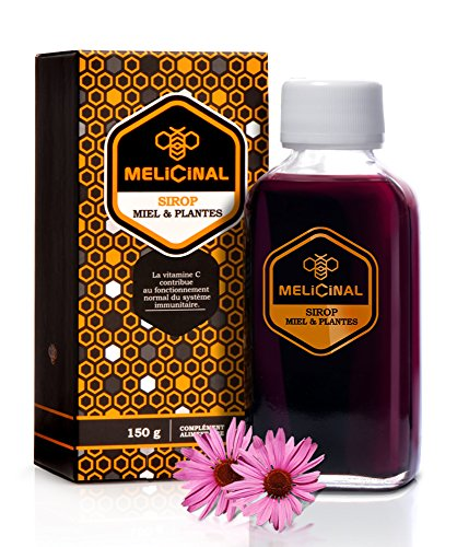 MELICINAL Sciroppo Miele * 150g * propoli, sambuco, acerola, echinacea, melagrana, oli essenziali * 100% Naturale