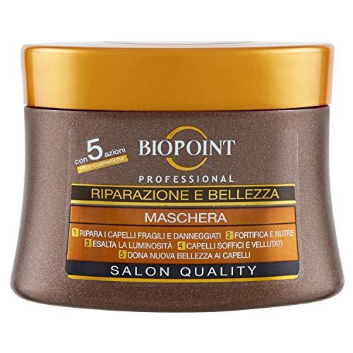 Biopoint Riparazione e Bellezza Maschera per Capelli, 250ml