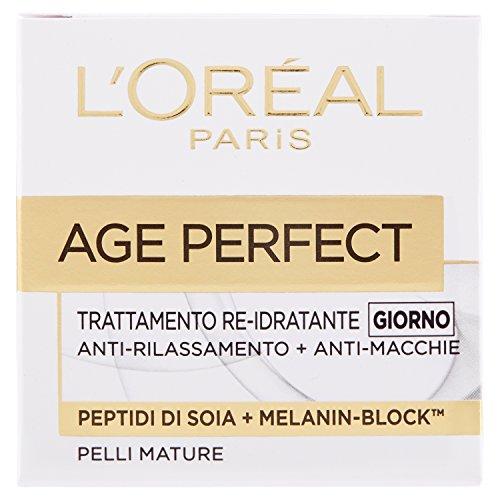 L'Oréal Paris Age Perfect Crema Viso Re, Idratante, Giorno, 50ml