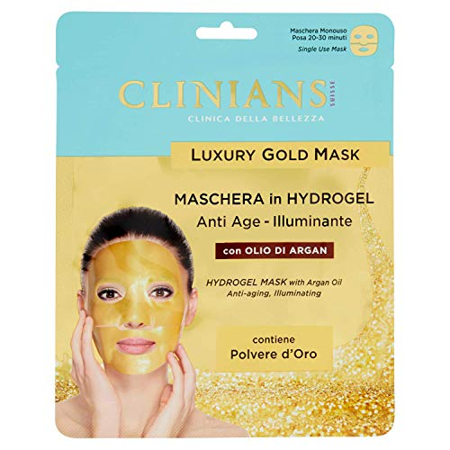 Luxury Gold Mask - Maschera Hydrogel Anti Age Illuminante 25 ml
