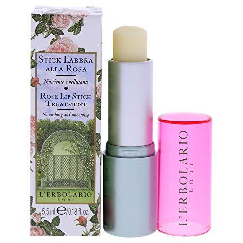 L'Erbolario Stick Labbra Rosa Trattamento labbra nutriente e vellutante 5,5 ml