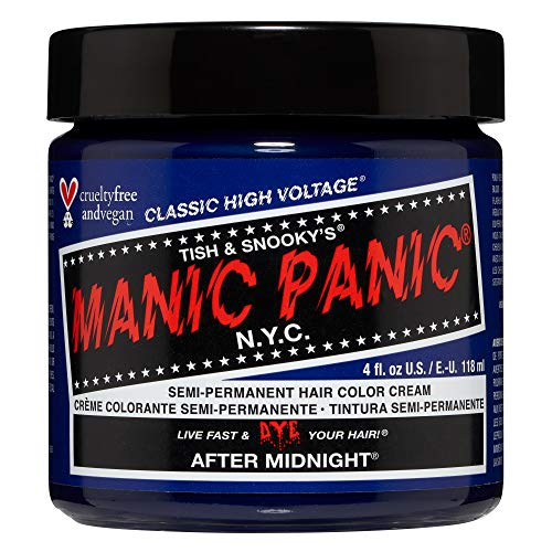 Manic Panic - After Midnight Classic Creme Vegan Cruelty Free Semi-Permanent Hair Colour 118ml
