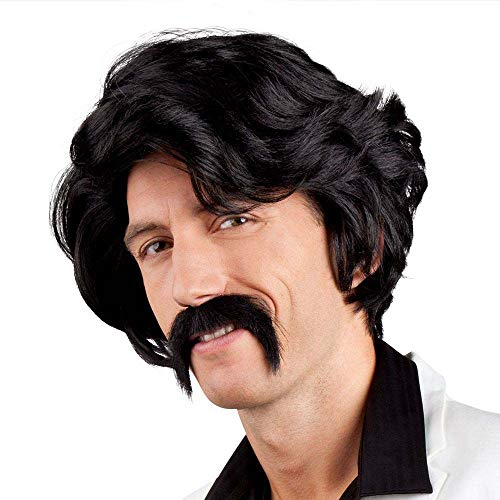 Boland Parrucche e parrucchini per Adulti, Nero, Unica, 86346, Modelli/Colori Assortiti, 1 Pezzo