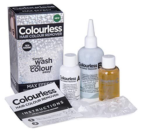 Soluzione per rimuovere tinture per capelli Colourless Max Effect