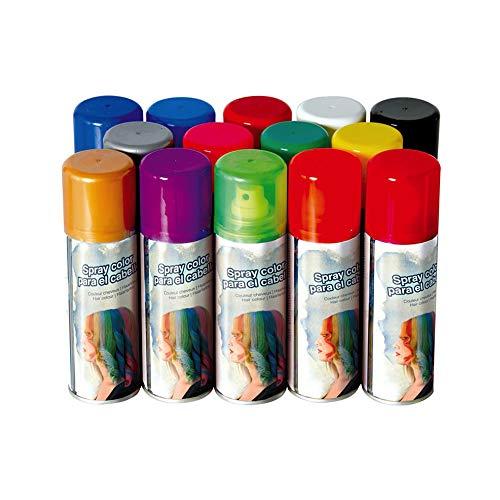 Varie GUIRCA - BOMBOLETTA Spray LACCA Colorata per COLORARE I Capelli (Bianco)