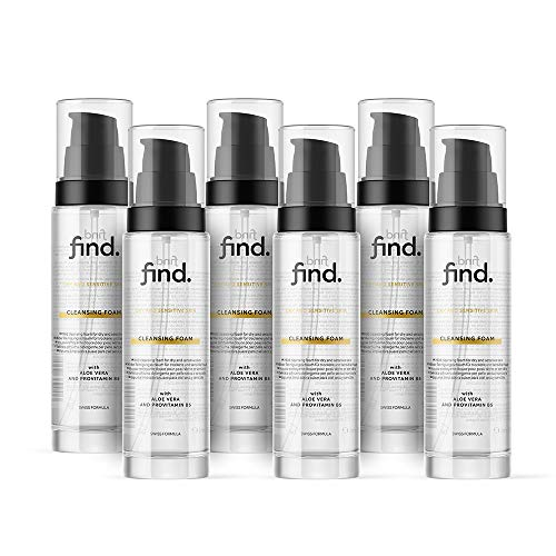 FIND - Schiuma detergente per pelle secca e sensibile ( 6x150 ml )