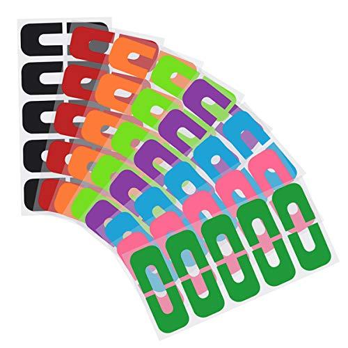 80 pezzi Nastri per unghie Usa e getta Forma di U Protettore Unghie Sticker Anti Overflow Manicure Strumento Per Protezione Dita Evitare Che Smalto Vostre Mani Verunreinigt