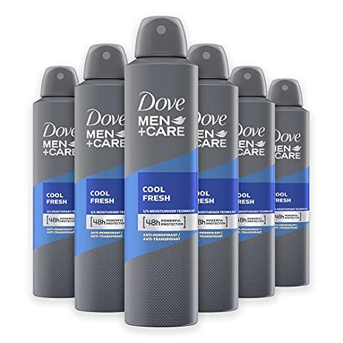 Dove Men+Care DMC Deodorante Spray Uomo Cool Fresh, 6 Pezzi da 250 ml