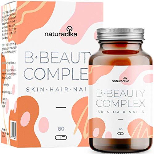 B-Beauty Complex | Integratore Capelli | Biotina | Prodotti Per La Cura Dei Capelli, Pelle E Unghie Specifico per Crescita Capelli (Biotina Capelli Effetto Anticaduta Capelli Donna) | Vitamine Capelli