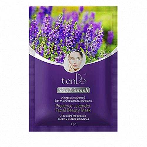 Maschera facciale per pelli sensibili con lavanda provenzale naturale al 100% 1 pz