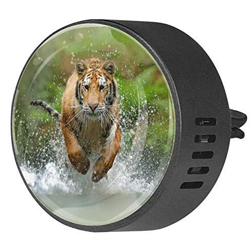 Tiger Siberian Panthera Tigris Altaica Diffusore per auto in EVA per aromaterapia, diffusore di oli essenziali, frutto della passione floreale