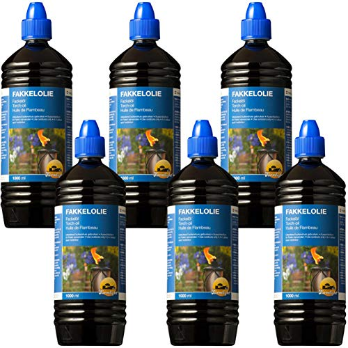 FARMLIGHT Olio per Torce 6x 1L