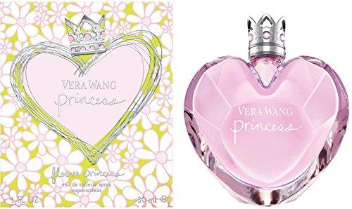 Vera Wang Flower Princess Eau de Toilette – Profumo da donna floreale – Per un incantevole profumo primaverile – Confezione da 1 (1 x 30 ml)