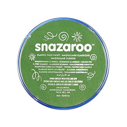 Snazaroo - Colore Per Viso 18ml Verde Prato