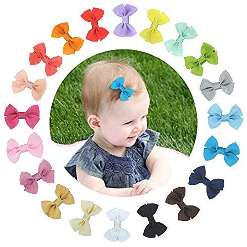 set da 20 Mollette per Capelli Bambina Fermagli Capelli Clip,Capelli Antiscivolo Accessori per Bambina Alligatore Clip