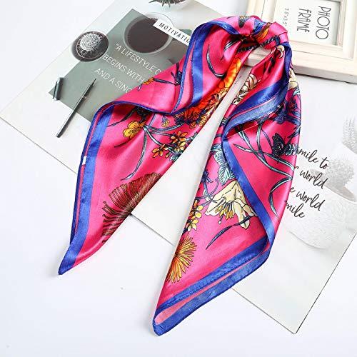 Turbante Headband Cerchietti Cerchietti Fascia per Capelli Sciarpa per Capelli Stampata in Raso Bandane Quadrate Accessori PE