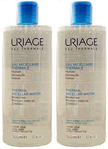 Uriage Acqua Micellare Duo 2 x 500ml - Pelle Normale/Secca
