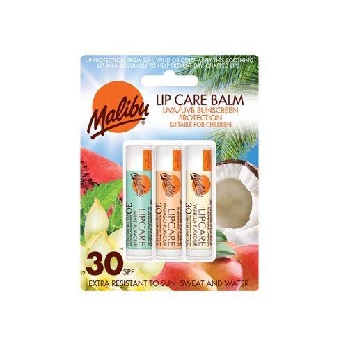 Malibu - balsamo labbra in blister SPF30, menta/mango/vaniglia, 12ml