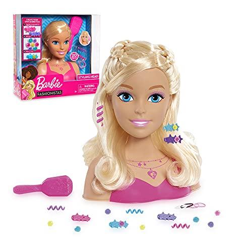 Grandi Giochi BAR28000, Barbie Fashionistas Styling Head