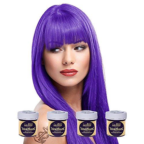 La Riche Directions Semi-Permanent Hair Colour Violet - 4 Tubs