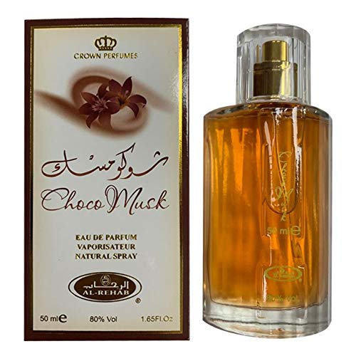 Choco Muschio arabo Profumo spray - 50ml by Al Rehab