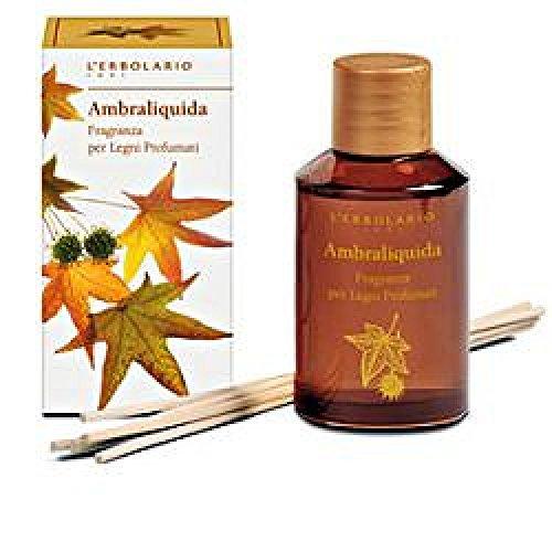 L 'erbolario Ambraliquida fragranza olio per bastoncini profumati